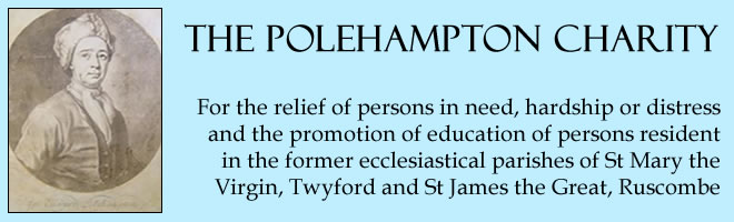 The Polehampton Charity Banner